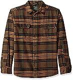 Woolrich Men's Oxbow Bend Flannel Button Down Shirt, Bungee Cord, XL