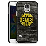 DeinDesign Samsung Galaxy S5 Neo Hülle Case Handyhülle Borussia Dortmund BVB Holzoptik