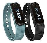 SportPlus Q Activity Tracker, Q-Band EX HR, mit Optischem Herzfrequenzsensor, Uni