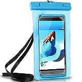 ONEFLOW Wasserdichte Hülle für LG | Full Cover in Blau 360° Unterwasser-Gehäuse Touch Schutzhülle Water-Proof Handy-Hülle für LG G7 ThinQ G6 G5 G4 G3 G2 G1 G Flex 2 UVM Case Handy-Schutz