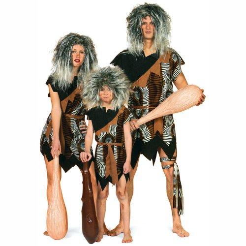 PARTY DISCOUNT NEU Kinder-Kostüm Neandertaler Gr. - Steinzeit Kostüm Kinder