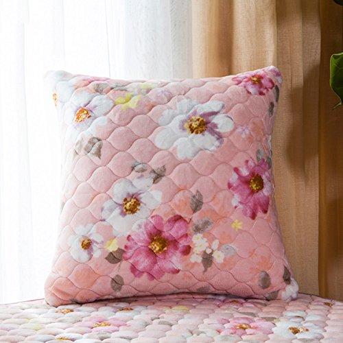 MENA HOME/Moderner Garten Kissenbezug/Kern Kissen Sofakissen/Büro Lendenkissen Kissen Kissen (Farbe : 3, größe : 55*55cm)