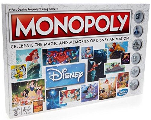 Hasbro c2116104Monopoly: Disney, Juego