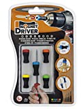 #4: Magnetic Bit Holder Magnet Driver B50 : An Ideal Product: Magnet Driver Has Revolutionized The World Of Screwing. Available In Different Sizes And Adaptable To Any Manual Or Electric Screwdriver. Its Powerful Neodymium Magnetic Ring Combined With A Flexible Rubber Body, Provide Simplicity, Speed And Security In Everyday Diy Tasks.