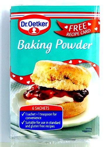 Dr. Oetker - Home Baking - Baking Ingredients - Baking Powder - 6x5g