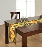 ShalinIndia Digitally Printed Flowery Reversible Table Runner - 13