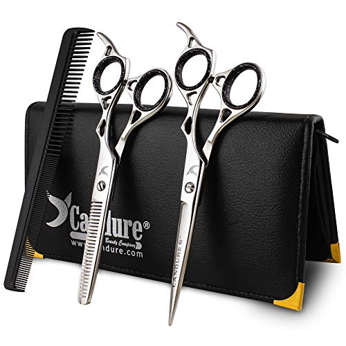 Haarschere Friseurschere set Haarschneideschere Geschenkseit Haare Schneiden