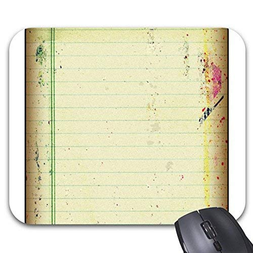 Mouse Pads Notebook Paper Mouse Mat (Notebook Paper 7 X 9)