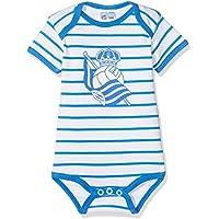 Real Sociedad Bodrso, Body para Bebés, Multicolor (Blanco/Azul), 3