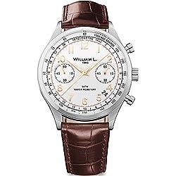 Reloj William L. para para Hombre WLAC01BCORCM