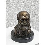 Skulptur aus Bronze: Hippokrates