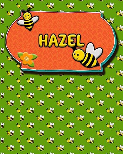 Handwriting Practice 120 Page Honey Bee Book Hazel: Primary Grades Handwriting Book K-2 -