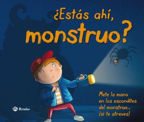 ¿Estás ahí, monstruo? (castellano - a partir de 3 años - manipulativos (libros para tocar, jugar y pintar), pop-ups - otros libros)