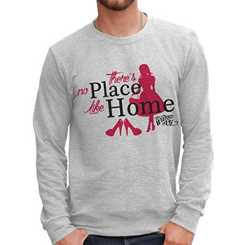 Sweatshirt Es Gibt Keinen Platz Wie Zuhause Der Zauberer Von Oz - Film By Mush Dress Your Style - Herren-XXL ()