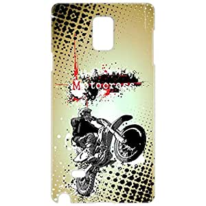 a AND b Designer Printed Mobile Back Cover / Back Case For Samsung Galaxy Note 4 (SG_N4_3D_300)
