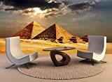 Foto Wandbild Pyramiden von Gizeh Kairo Ägypten Wall Art Dekor Fototapete Poster Hochwertiger Druck