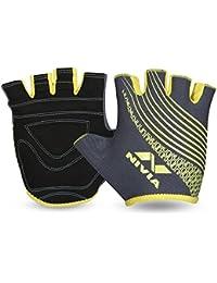 Nivia Taipen Sports Gloves Black Grey
