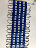 3 LED strips 12V Waterproof 5630/5730 LED modules Blue - 5 modules In The Pack : 5 strips/Modules (15 LED)