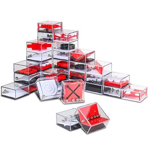 (MAJOZ 24er Set Balance Labyrinth Puzzle Spiel Mitgebsel Geduld Knobelspiel 3D Puzzle Geduldspiele für Kinder und Erwachsene)