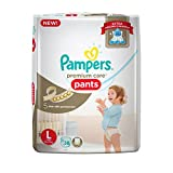 #10: Pampers New Premium Care Large Size Diaper Pants (38 Count)