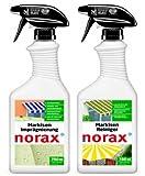 Vorteilsset: norax Markisen Reiniger 750 ml & norax Markisen Imprägnierung 750 ml