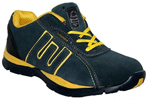 Groundwork GR86 S, Chaussures de sécurité mixte adulte bleu/jaune