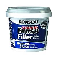 1, Classic: Ronseal Hlcf600G Smooth Finish Hairline Crack Filler 600 G