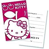 Hello Kitty Apple Einladungskarten