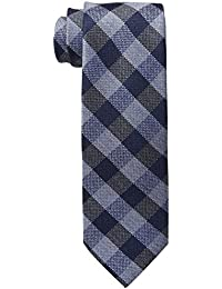 Tommy Hilfiger Men's Short-Sleeve Checked Tie