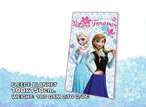 Disney - Frozen. WD07220. Manta polar azul