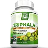 BRI Nutrition Triphala - 1000mg Veggie Himalaya Triphala Pure Extract Plus - 30 Day Supply - 60ct Veggie Capsules from BRI Nutrition