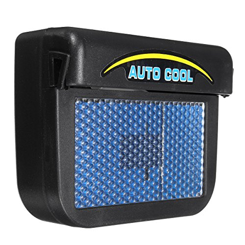 AVANI EXCHANGE Solar Power Car Window Auto Air Vent Cool Fan Cooler Ventilation System Radiator -