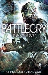 Battlecry: Sten Omnibus 1: Numbers 1, 2, & 3 in series