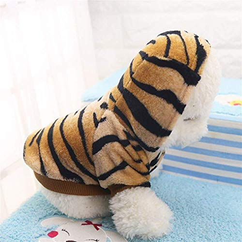 Hunde Kostüm 100 Pfund - CHY Heimtierzubehör Lovelypet Herbst Winter Heimtierprodukte Hundekleidung Haustiere Mäntel Weiche Baumwolle Welpen Hundekleidung Kleidung für Hund Tiger Kostüm Xs-2Xl,S
