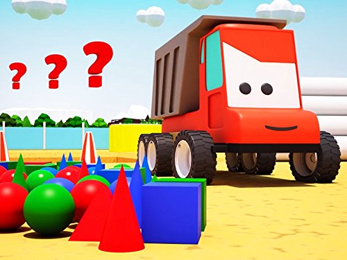 Red Truck - Learning bulk geometric shapes and colors