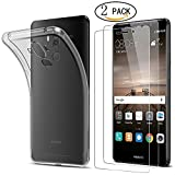 wellead [2 Pack] Huawei Mate 9 Protecteur d'écran Protection [Japan AGC Glass] Haute Transparence et Ultra résistant, pour Huawei Mate 9 (Ultra Slim 0,33mm)