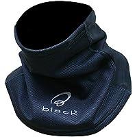 Black 5006 Cache-col Coupe-Vent pour Moto Noir