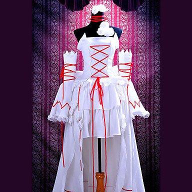 Pandora Hearts White Rabbit Alice Cosplay Kostüme Brauch(Mailen Sie uns Ihre Größe),Größe L:165-170 (Pandora Kostüm Cosplay Hearts Alice)