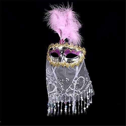 Kostüm Kind Prinzessin Römische - Maske Maskerade Prom Maske venezianischen Karneval Party Maske Halloween Weihnachten Maskerade Maske Kind Erwachsene Prinzessin Queen Mesh lustige Party Maske Maskerade Halloween Maske