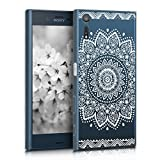 kwmobile Crystal Case Hülle für Sony Xperia XZ aus TPU
