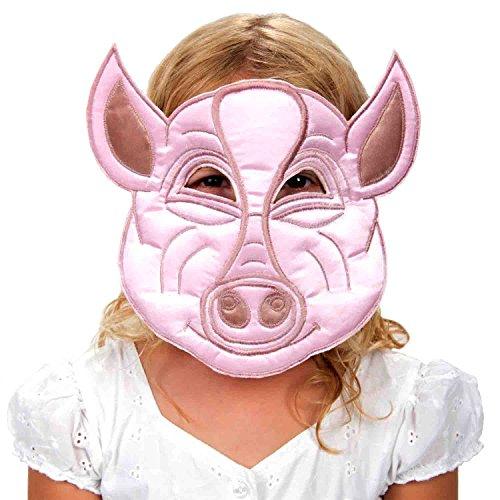 (Schweine Maske Kinder - Rosa Schwein Maske - Schwein Kostüm Kinder - Lucy Locket)