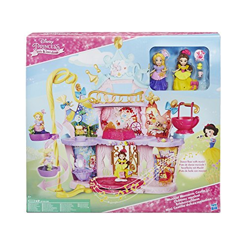 DISNEY PRINCESS C0536EU40 Little Kingdom Musical Moments Castle