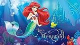 Fototapete Disney Arielle Die Meerjungfrau Sebastian und Fabius (104 x 70,5cm - 1-teilig) Vlies-Tapete