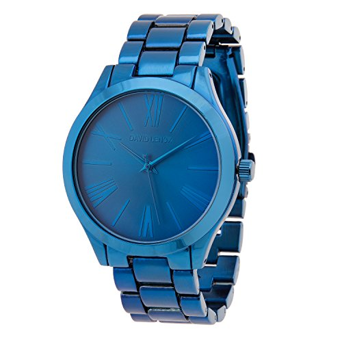 David Lenox Midnight Blau Ton Damen Armbanduhr Michael Kors Runway Collection Style dl0325