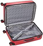 Packenger Premium Koffer 2er-Set Velvet, L/XL, Rot - 5