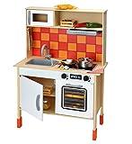 BELUGA Spielwaren 4002827202250 Spielküche aus Holz, Höhe 100 cm, GH