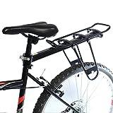PEDALPRO BICYCLE SEAT POST MOUNTED REAR PANNIER BIKE BAG RACK ALUMINIUM