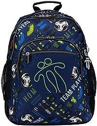 Amazon.es  Fútbol - Mochilas y bolsas escolares  Equipaje 31ee1fec1086a