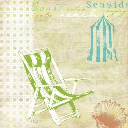 Feeling-at-home-Kunstdruck-Cabana-Beach-Citrus-Collage-I-cm71x71-Poster-fuer-Rahmen Cabana Beach Stuhl