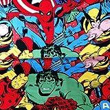 Visage Marvel Stoff – Marvel verpackt groß – VISF90